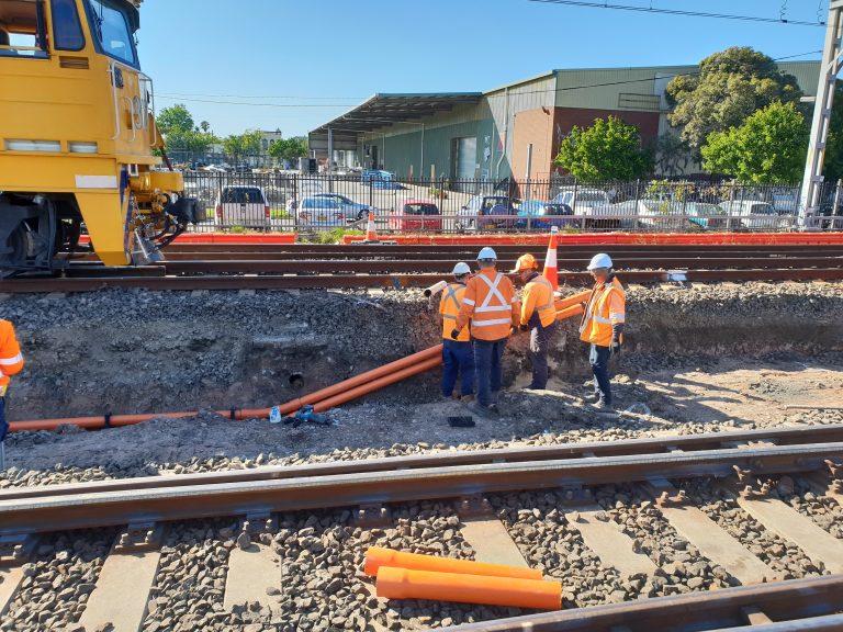 sydenham junction metro rail surveying