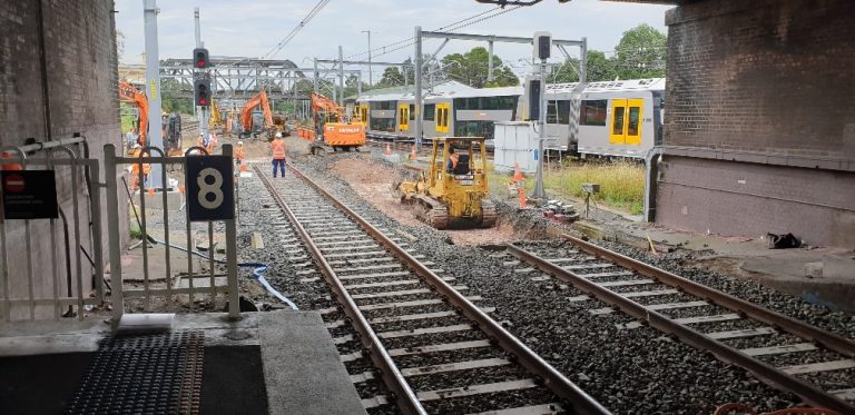 sydney metro railway surveying