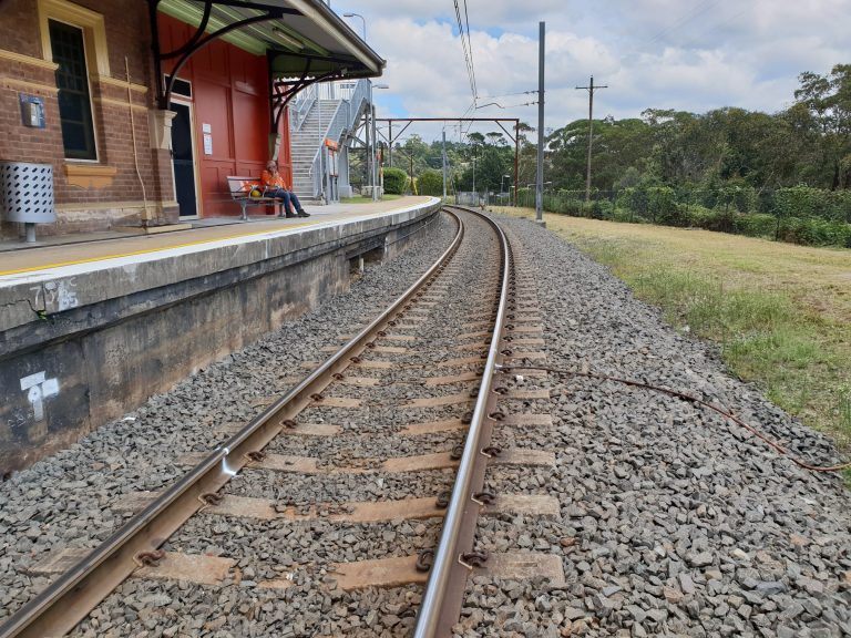 Blue Mountains Rail Clearance Project - Track Re-alignment