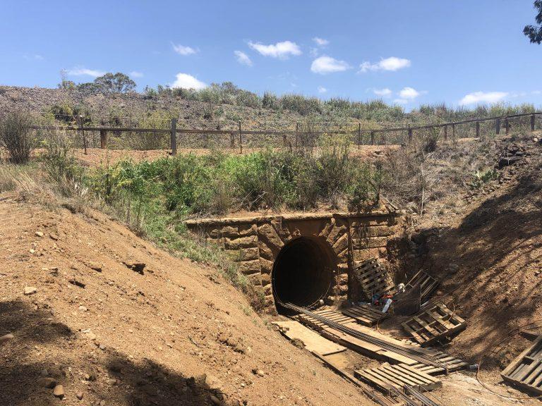 Detail survey of brick arch culvert - Murrurundi
